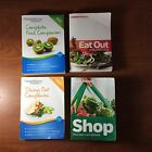 Weight Watchers 2012 Dining Out SHOP Food Companion Eat Out 4 Book Lot