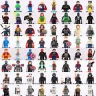 mini figures dc comics marvel hulk movies harry starwars pirates fits with lego