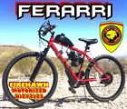 Ferrari 50 80cc Gas Motor MOTORIZED ENGINE  26 BIKE BICYCLE MOPED SCOOTER KIT