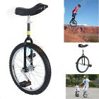 New Black 20 INCH Unicycle UNI CYCLE Scooter Circus Pro Bike Youth Adult