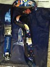 Disneyland Diamond Celebration 60th Anniversary Deluxe Lanyard Reversible Pin