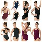 NEW Capezio Balera Strappy Fancy Back Dance Ballet Leotard Child