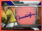 2016 Topps Strata Clearly Auto Rollie Fingers Oakland Athletics Serial # 35 99.