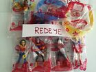 MCDONALDS TOYS 2016 ..SUPER HERO GIRLS..COMPLETE SET OF (8) !!! LIVE TO SHIP !!!