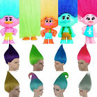 Elf Pixie Troll Coloured Wig Movie Style Adult  Kids Sizes Halloween Fancy Dres