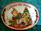 FITZ AND FLOYD HOLIDAY SENTIMENT TRAY~2012~