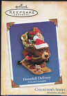 2004 Hallmark Downhill Delivery Nick & Christopher  Series Ornament NIB NEW IN B