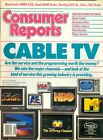 1987 Consumer Reports Magazine Cable TV Disney Channel HBO Bravo Coffee Makers