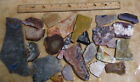 2 LB-3-- Slabs for Cabochons-- Lot-Mixed Stones--2 +lb