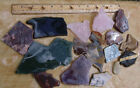 2 LB-2-- Slabs for Cabochons-- Lot-Mixed Stones--2 +lb
