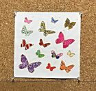 1 quilt top block appliqu 875 fabric square great for projects butterfly