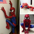 Christmas Party Boy Spiderman Costume Kids Superhero Cosplay Bodysuit Children