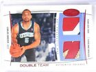 04-05 Fleer Hot Prospects Double Team USA Carlos Boozer dual patch #D08 10 *4059