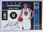 2011-12 Limited Andrew Bogut Team Trademarks Autograph #D09 10 #5 *55325