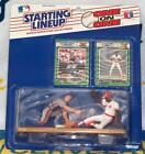 1989 Kenner Starting Lineup One on One Gary Carter ~ Eric Davis Action Figure
