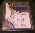 2015-16 PANINI IMMACULATE INK BLUE KEVIN DURANT AUTO # 10 SSP