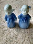 Boy and Girl Angels - Blue - Cermanic - Wings