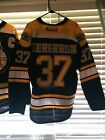 REEBOK BOSTON BRUINS BERGERON HOME AUTHENTIC 2013 STANLEY CUP FINALS JERSEY Sz50