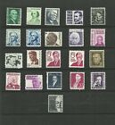 US  1278 1295 PROMINENT AMERICANS COMPLETE SET OF 21 MINT NH