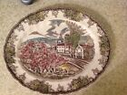 Johnson brothers friendly village platter oval 9 3/4 by 11 3/4
