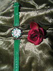 Genuine Murano Ladies Watch-HP Millefiori-Leather Band-Made in Italy! BIG $ale!