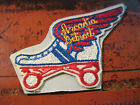 RARE 6 EMBROIDERED PATCH FROM THE ARCADIA ROLLER RINK IN DETROIT MICHIGAN