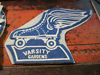 RARE 7 FELT PATCH FROM THE VARSITY GARDENS ROLLER RINK IN DETROIT MICHIGAN