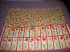 Susan Winget~~ Poppies Floral Panel with Backing~~ 24 Flowers  16 X 42