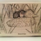 New Stampendous House Mouse Ducky Nap WM Rubber Stamp