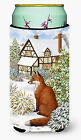 Fox by the Cottage Tall Boy Beverage Insulator Hugger