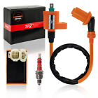 Racing AC CDI Box Ignition Coil Spark Plug GY6 50cc 150cc ATV Moped Scooters