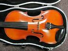 Andrew Schroetter 3/4 Size German Violin, Glasser Bow and Case, Model 415, NICE!