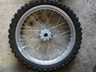BMW F650GS Off year 2001 F 650GS front wheel rim tire
