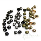 Set of 12 Classic Dome Buttons in Four Colors