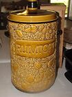 Large Marzi Remy RUMTOPF Brown Amber Golden Ceramic Crock - Germany with lid