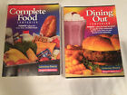 Lot 2 WEIGHT WATCHERS 2001 COMPLETE FOOD Dining out WINNING POINTS