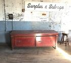 Mahogany Clothing Store Counter Haberdashery Country Antique Kitchen Island
