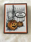 Happy Halloween Card Kit Set of 4 cards NEW