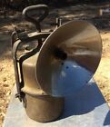 Antique French Carbide Mining Lamp Arras