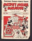 MICKEY MOUSE MAGAZINE 7 1934 WALT DISNEY CHESTNUT FARMS CHEVY CHASE DAIRY
