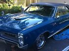 Pontiac GTO Tr Power Cubbie Blue 1966 GTO Tri Power manual awesome condition low reserve