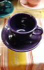 Fiesta CUP and SAUCER - Retired Color HTF - PLUM