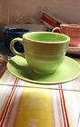 Fiesta CUP and SAUCER - Retired Color HTF - CHARTREUSE