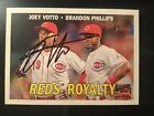 2016 Heritage High Number Reds Royalty Joey Votto Signed Autographed Auto