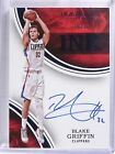 2015-16 Panini Immaculate Ink Blue Blake Griffin autograph auto #D10 10 *57337