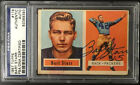 BART STARR SIGNED 1957 TOPPS ROOKIE CARD RC #119 PSA SLABBED AUTOGRAPH PACKERS