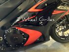 98-06 SUZUKI KATANA GSX 600F 750F BLACK FAIRING SCREENS GRILLS VENTS MESH NIB
