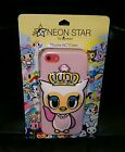 iPhone 5C Neon Star by Tokidoki Fancy Owl Case Crown Pink Loungefly New Fast