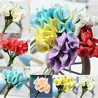 144Pcs Artificial Real Touch Flower Mini Calla Lily Wedding Home Party DIY Decor