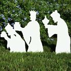Teak Isle Nativity Figures Plastic 3Wise Men Marine Grade US Christmas Outdoor